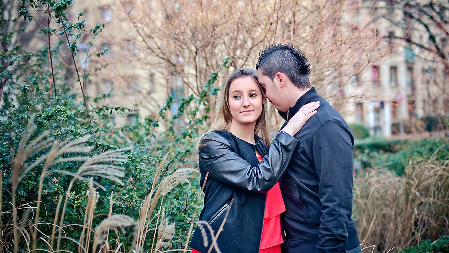 Séance Engagement en extérieur | Photographe Couple Caen
