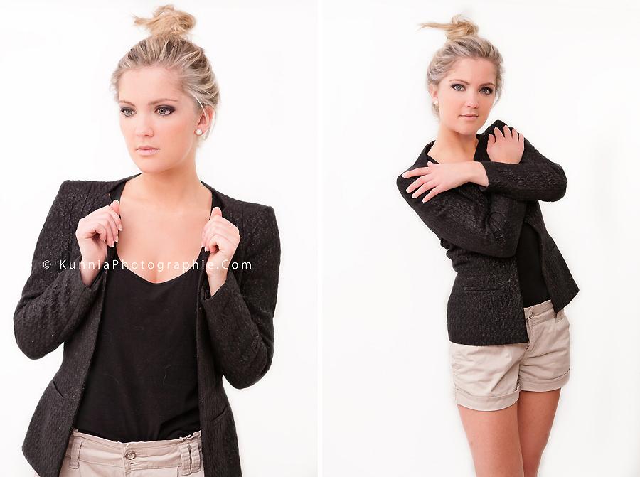 séance photo en studio Caen Aurore Girl Boyish séance mode modèle