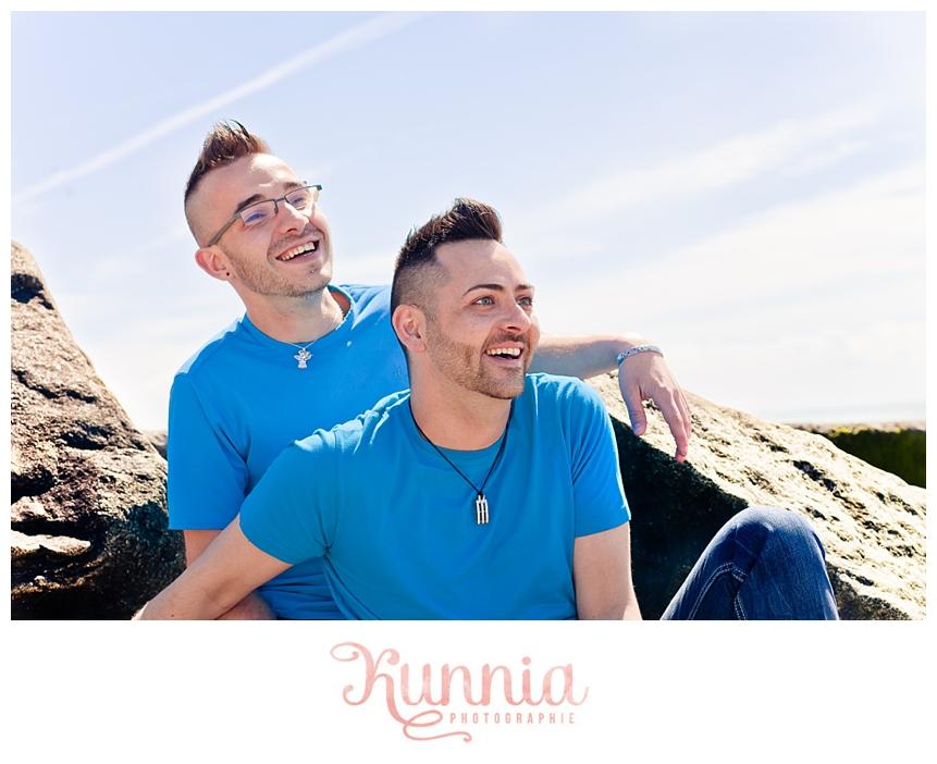 Séance couple homosexuel Granville Normandie