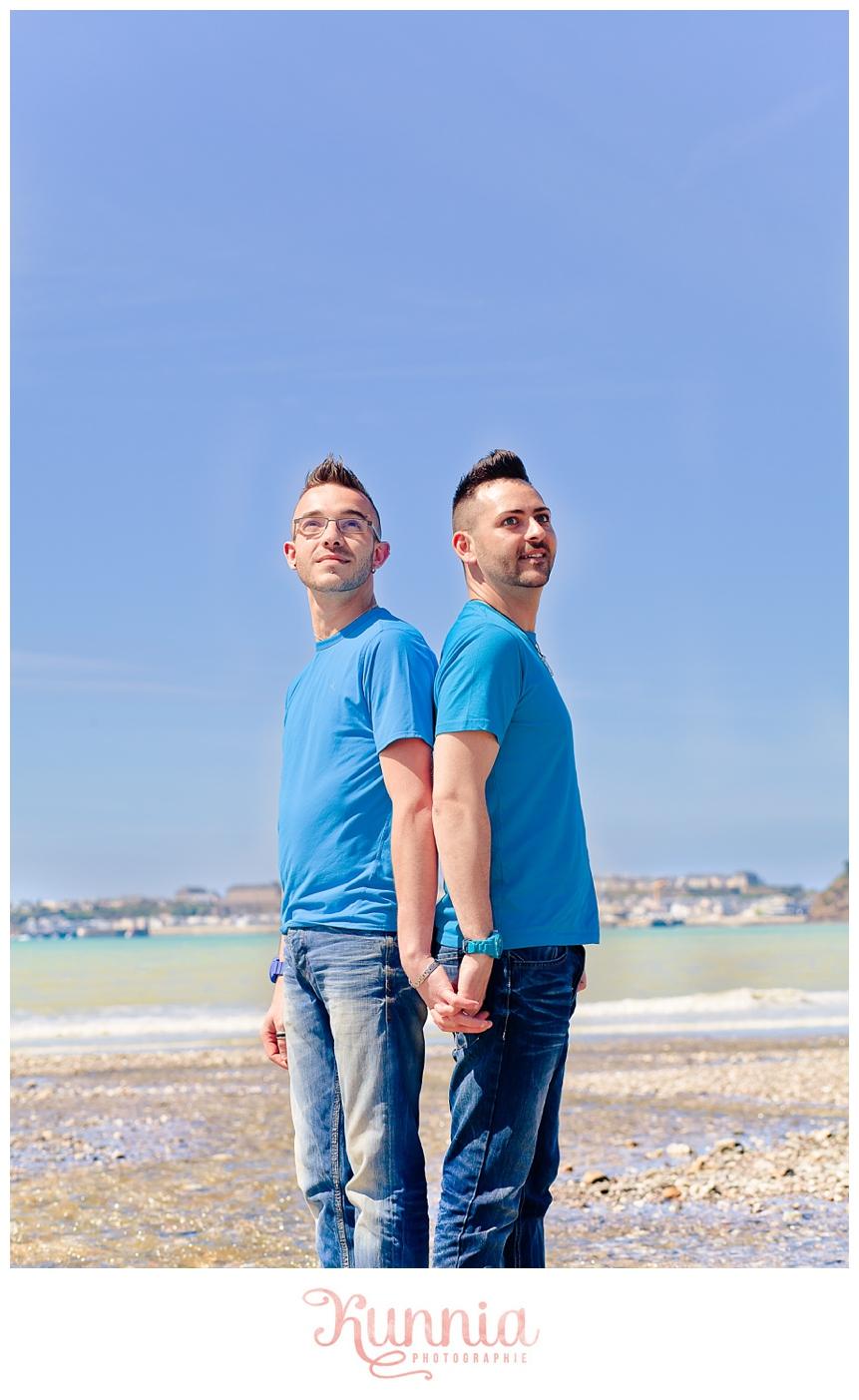Séance couple homosexuel Granville Normandie Caen Cabourg