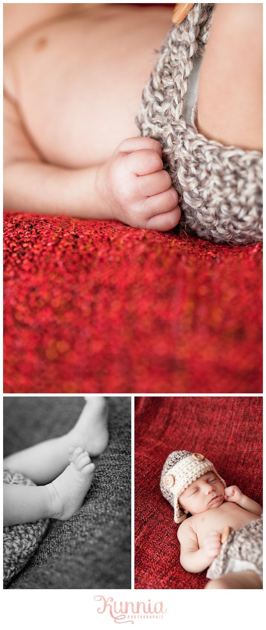 séance photo bébé 1 mois calvados