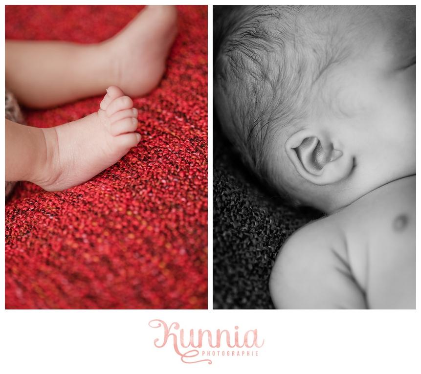 détails bébé 1 mois photographe calvados