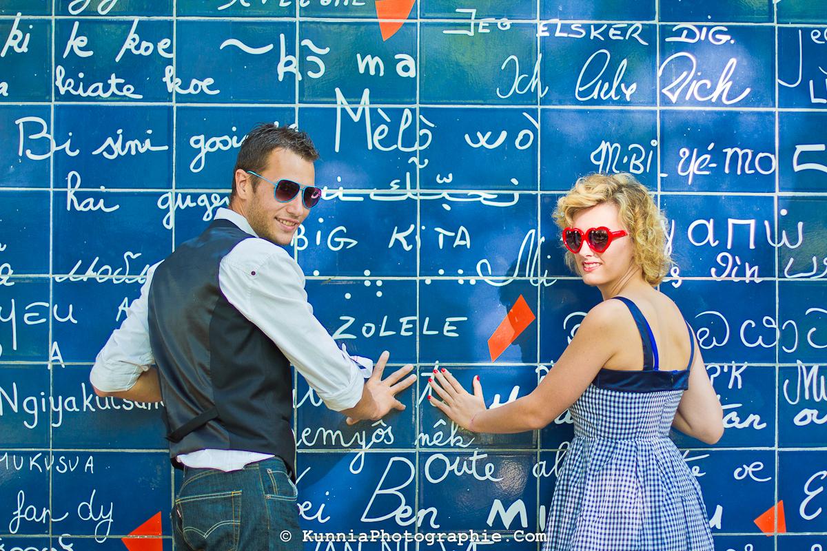 Céline Matthieu Séance Couple Montmartre