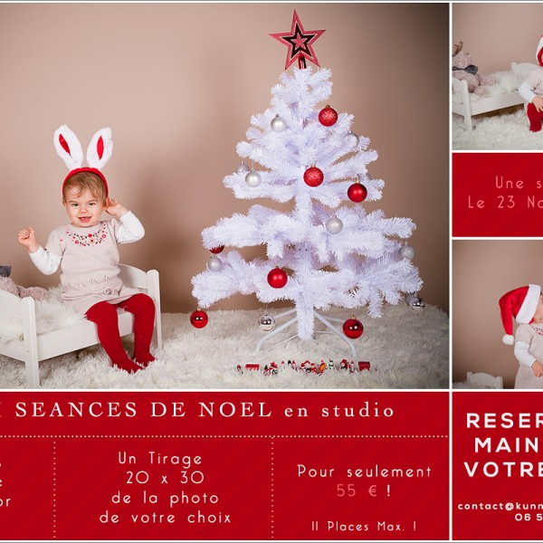 Mini Séances Photos Spécial Noël en studio | Photographe Caen