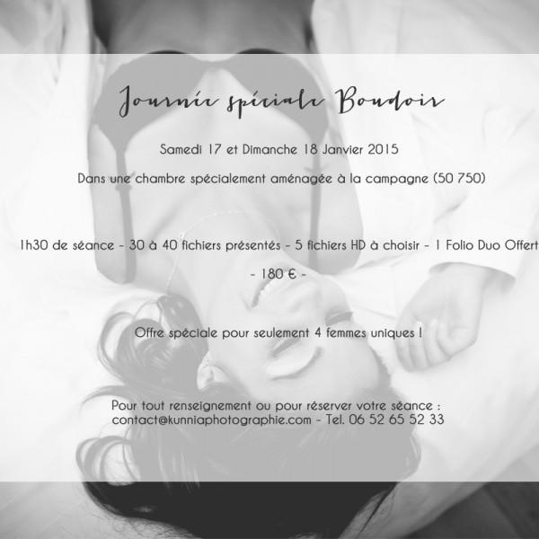 Offre spéciale Boudoir | Photographe Boudoir Caen Bayeux Saint-Lô Normandie