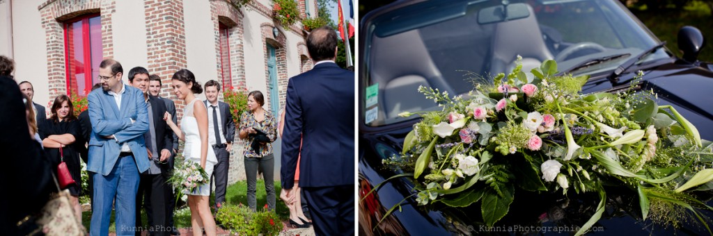 mariage pont l'eveque mariage à domicile theme champetre kunnia photographie photographe mariage normandie calvados manoir
