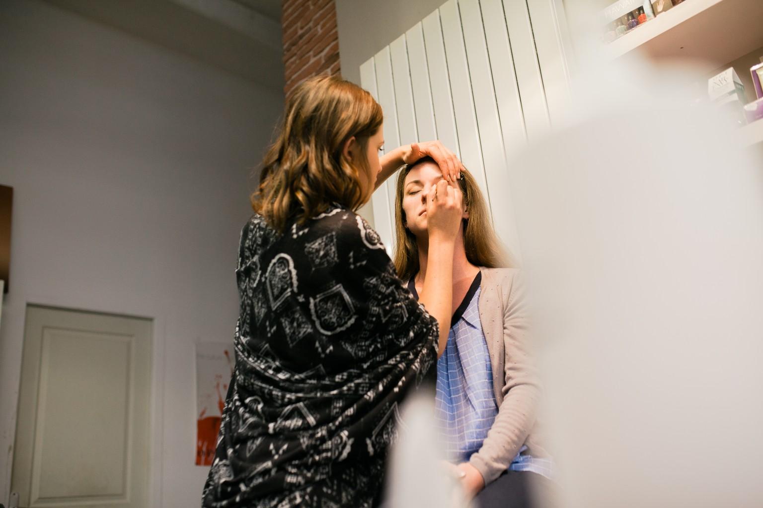 reportage mariage champ delaunay salon de coiffure atmosph hair mariage bellangreville calvados normandie