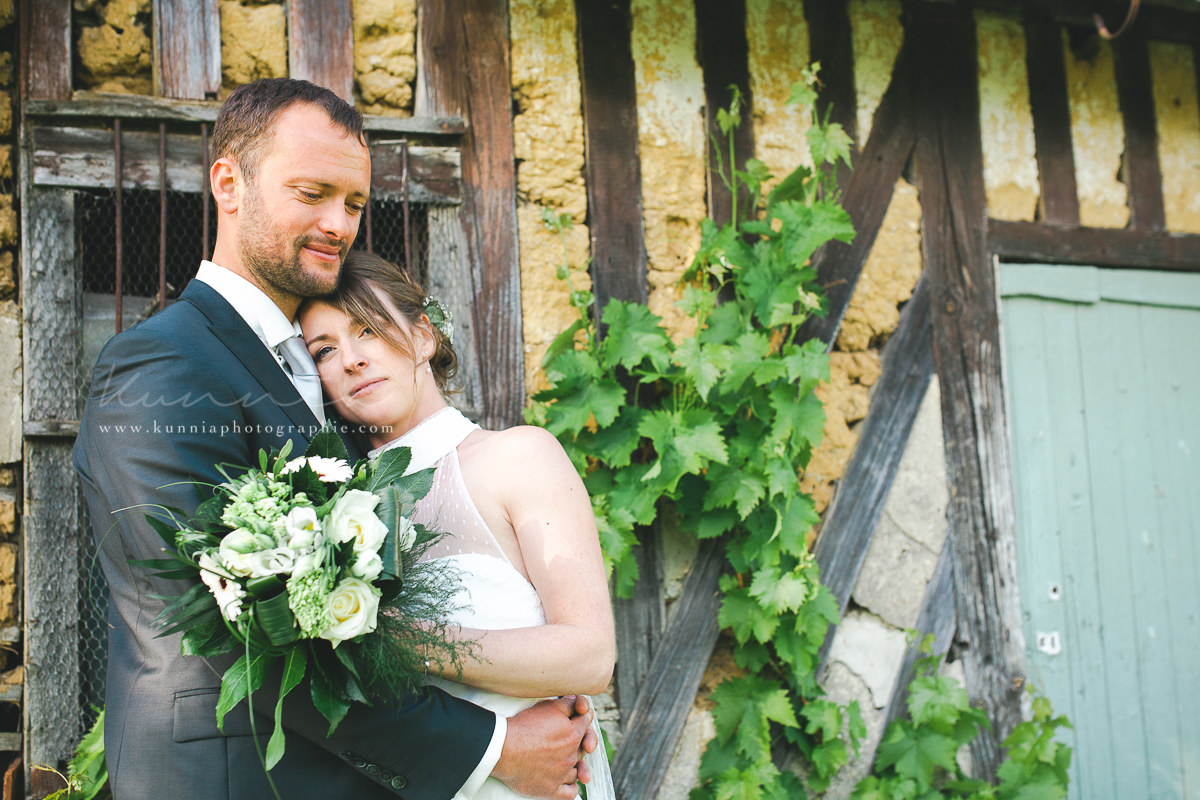 reportage mariage champ delaunay salon de coiffure atmosph hair mariage bellangreville calvados normandie roulotte boheme