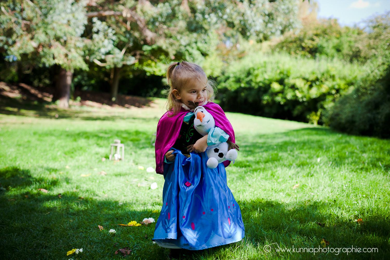 gouter des princesse disney photographe caen enfant la reine des neiges anna olaf deguisement diy