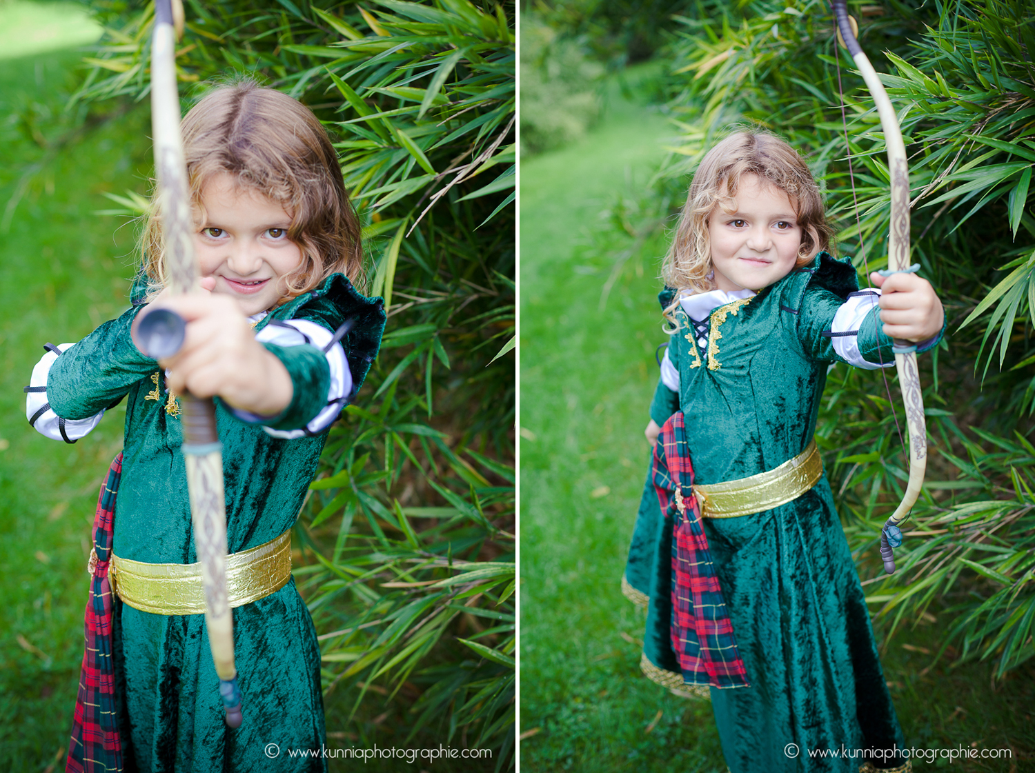 gouter des princesse disney photographe caen enfant rebele merida deguisement diy