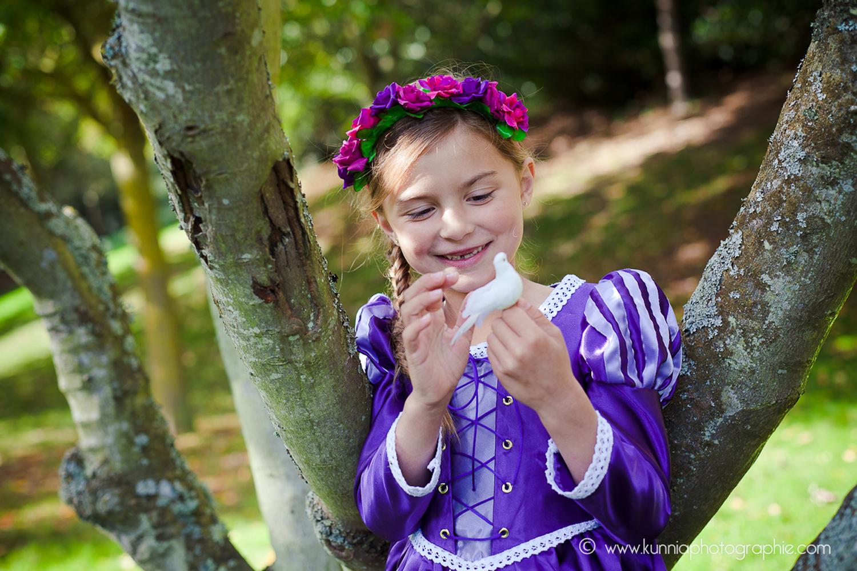 gouter des princesse disney photographe caen enfant raiponce deguisement diy