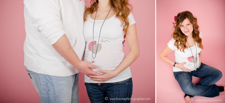 séance photo grossesse femme enceinte caen flers en studio