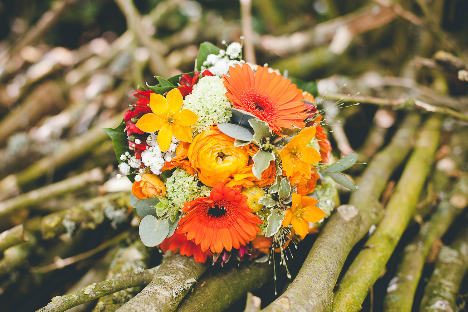 bouquet champetre photo mariage caen