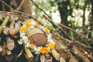 couronne de fleurs mariage photographe normandie