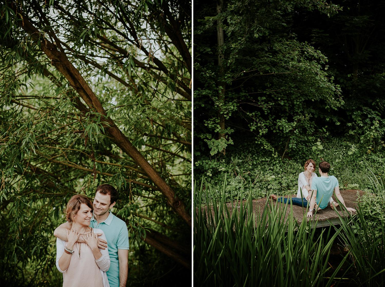 séance engagement couple boulogne billancourt photographe mariage