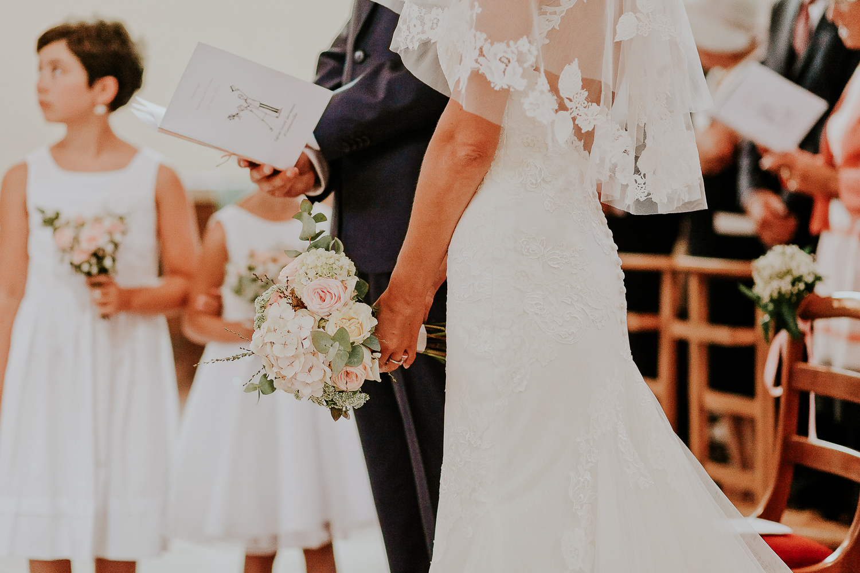 mariage romantique en haute normandie