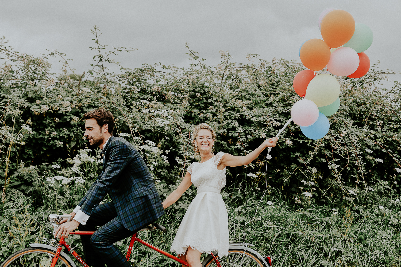 mariée en tandem mariage caen