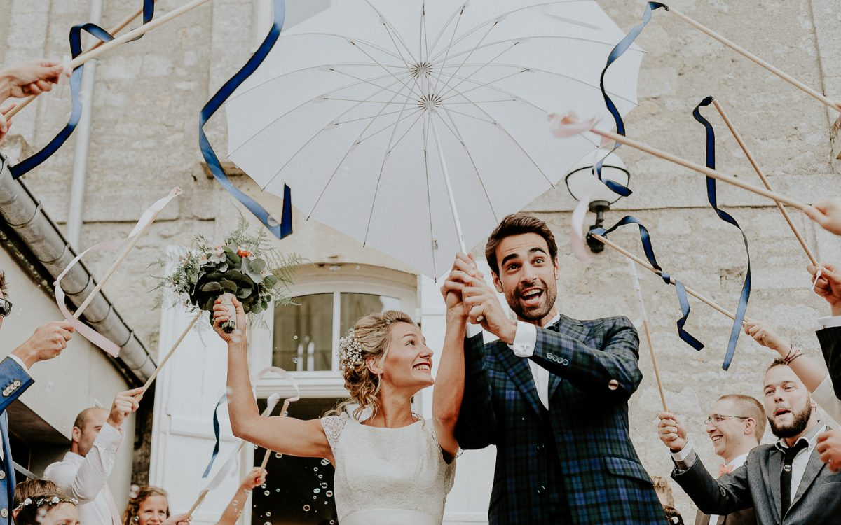 La Mariée en tandem au Champ Delaunay | Photographe Mariage Troarn