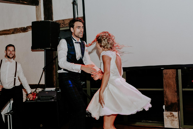 La Mariée en tandem au Champ Delaunay