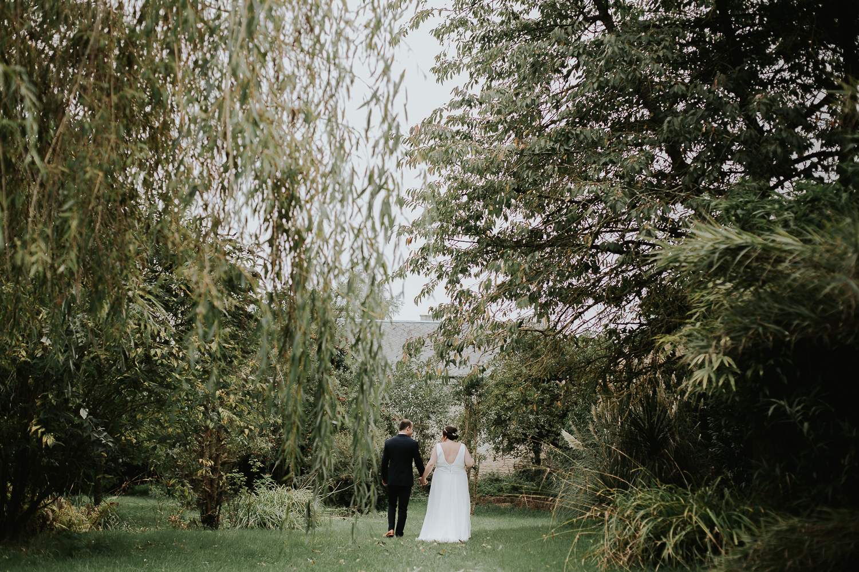 Mariage simple et champêtre