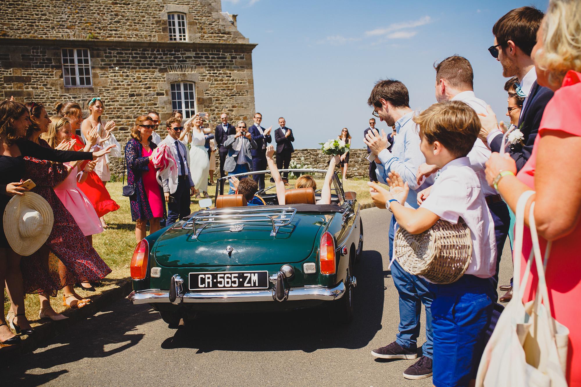 photographe mariage granville chateau de la lucerne