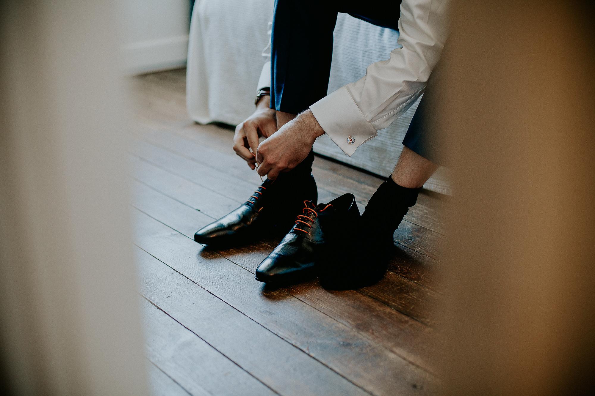 chaussures marié mariage normandie
