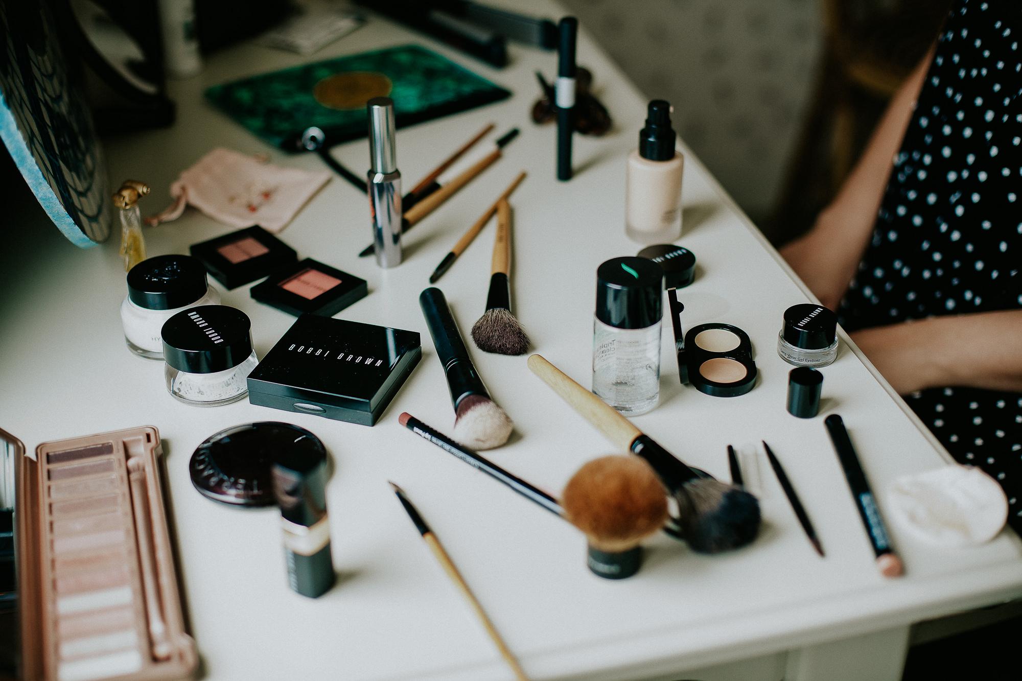maquillage à domicile mariée