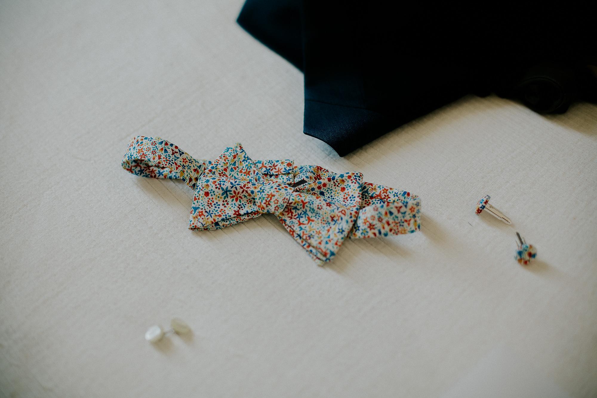 noeud papillon marié
