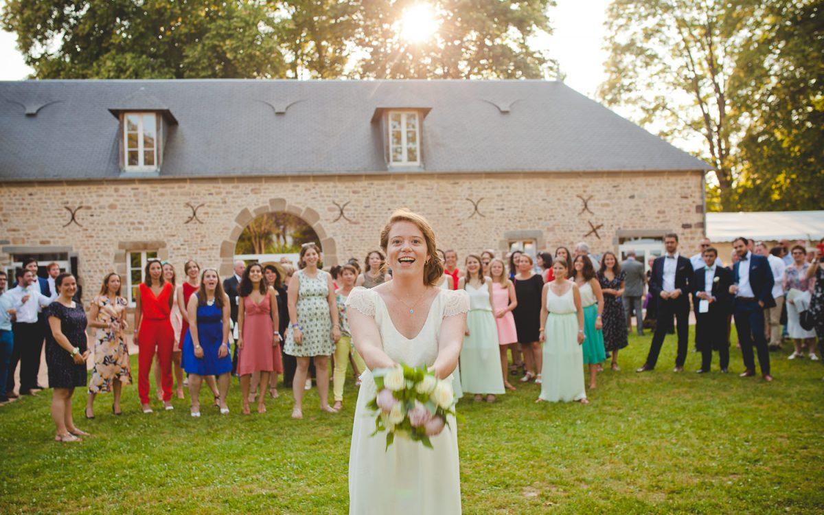 Un mariage végétal et festif au château de la Lucerne d'Outremer